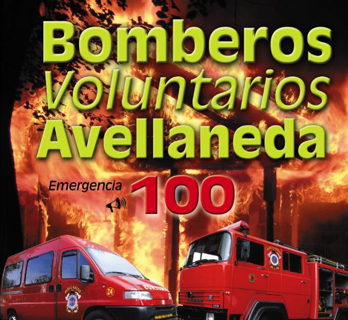 Tapa Bomberos Avellaneda