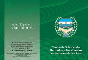 Frente Gendarmería Folleto