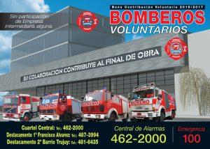 Bomberos Moreno 2016 Tapa