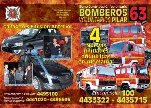 Bomberos Pilar 2015 Tapa