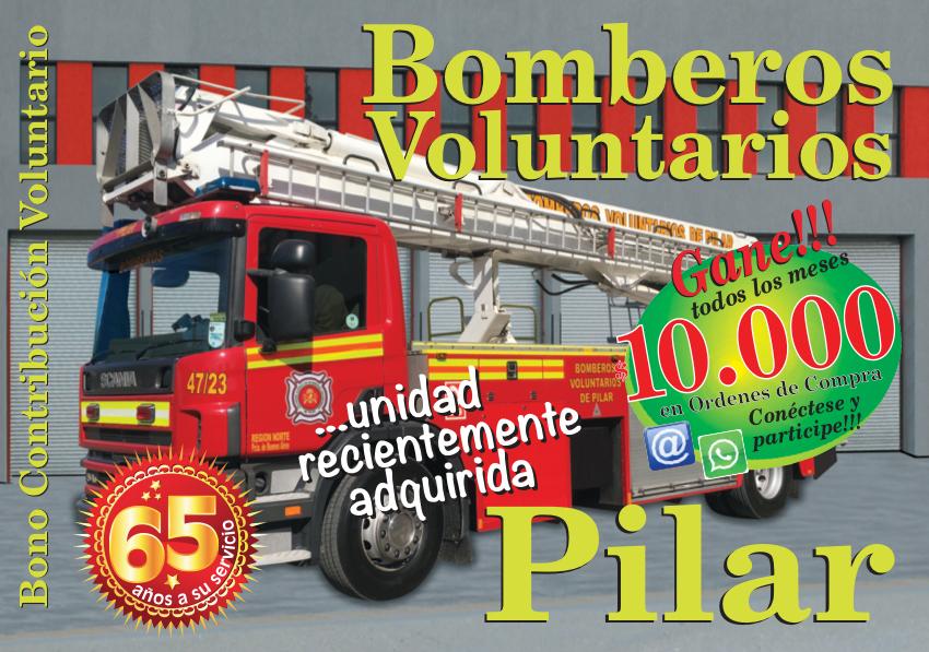 Bomberos Pilar 2018 Tapa